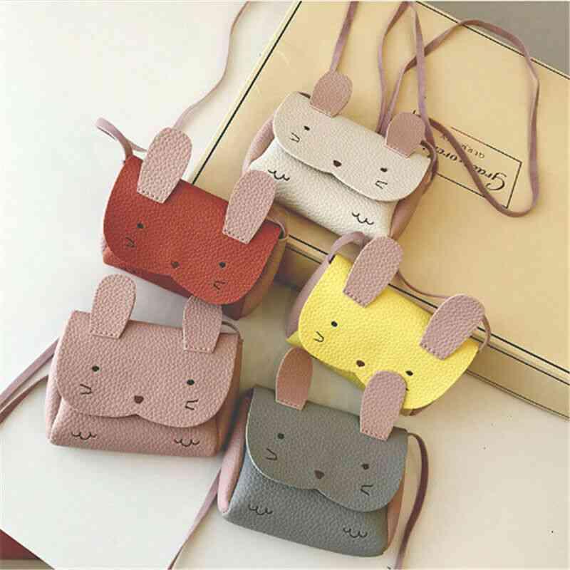 Plush Cute Fashion , Mini Small Wallet Coin Messenger - Adorable Shoulder Bag