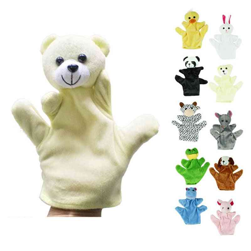Hand Glove Puppet - Plush And Adorable Sack Plush Toy For Kids