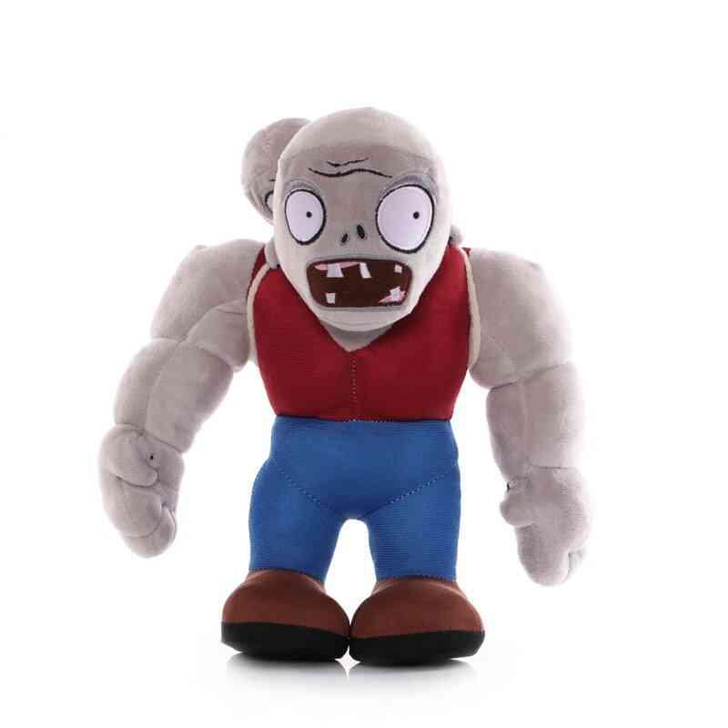 30cm Cartoon Plants Vs Zombies Gargantuar , Zombie Plush - Pvz Gargantuar Plush Soft Stuffed Toy