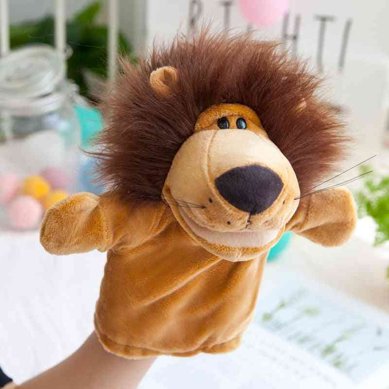 Animal Shape Hand Puppets For Kids - Cute And Soft Toy For Story Telling