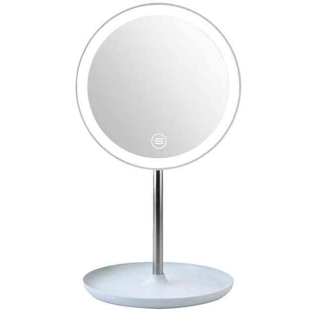 Detachable, 3 Modes Led Light-makeup Mirror With Stand