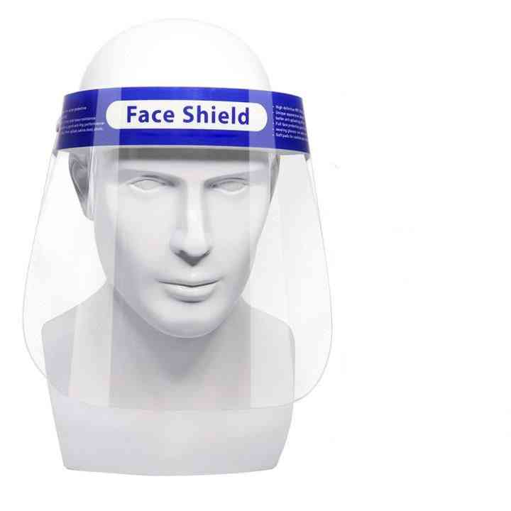 Full Face Shield With Attached Soft Sponge