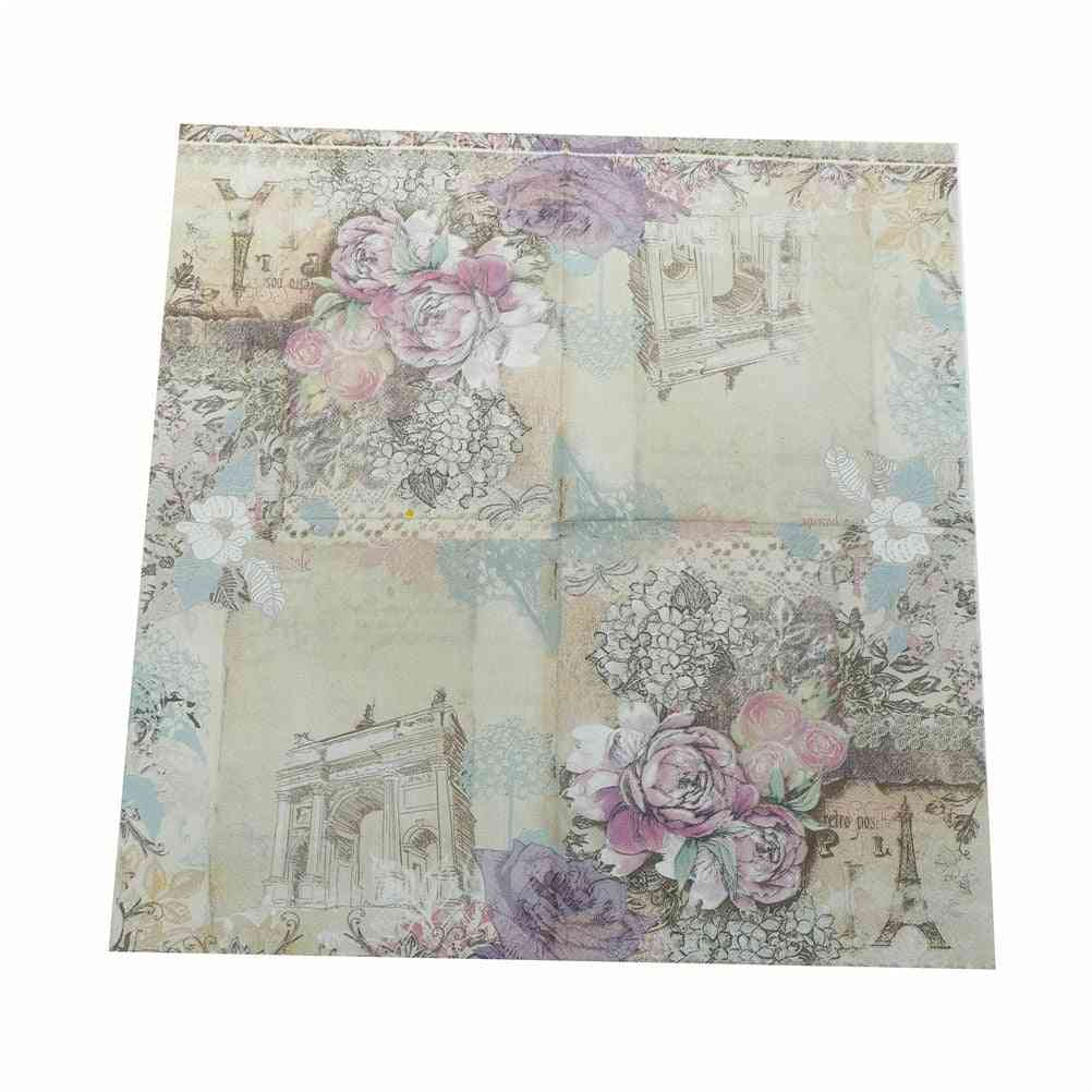Paper Napkins For Birthday, Wedding Party