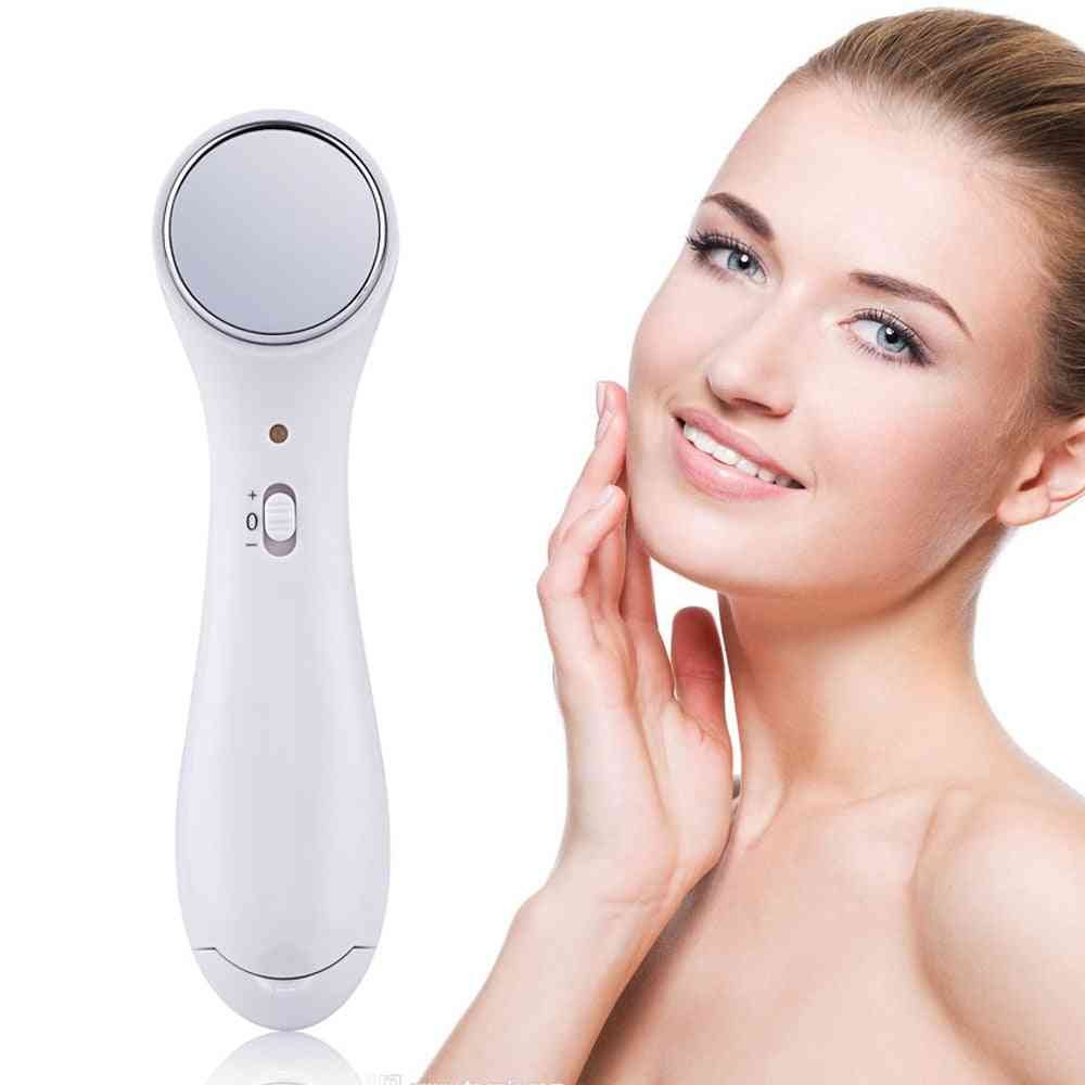 Electric Antiaging Facial Massager Machine - Ultrasonic Face Beauty Device, Wrinkle Removal, Skin Lift