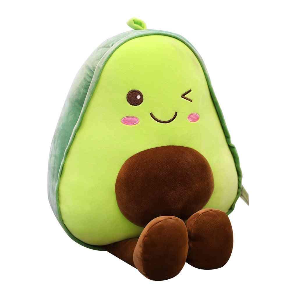 Cute Beautiful Avocado Fruit, Plush Plant Toy