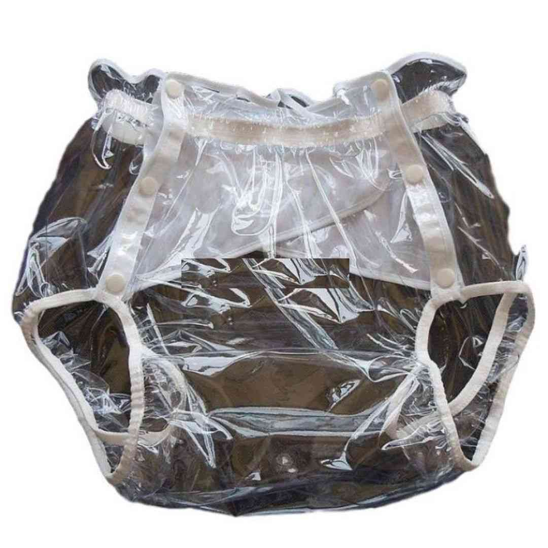 Transparent Xxl Non-disposable Adult Diapers