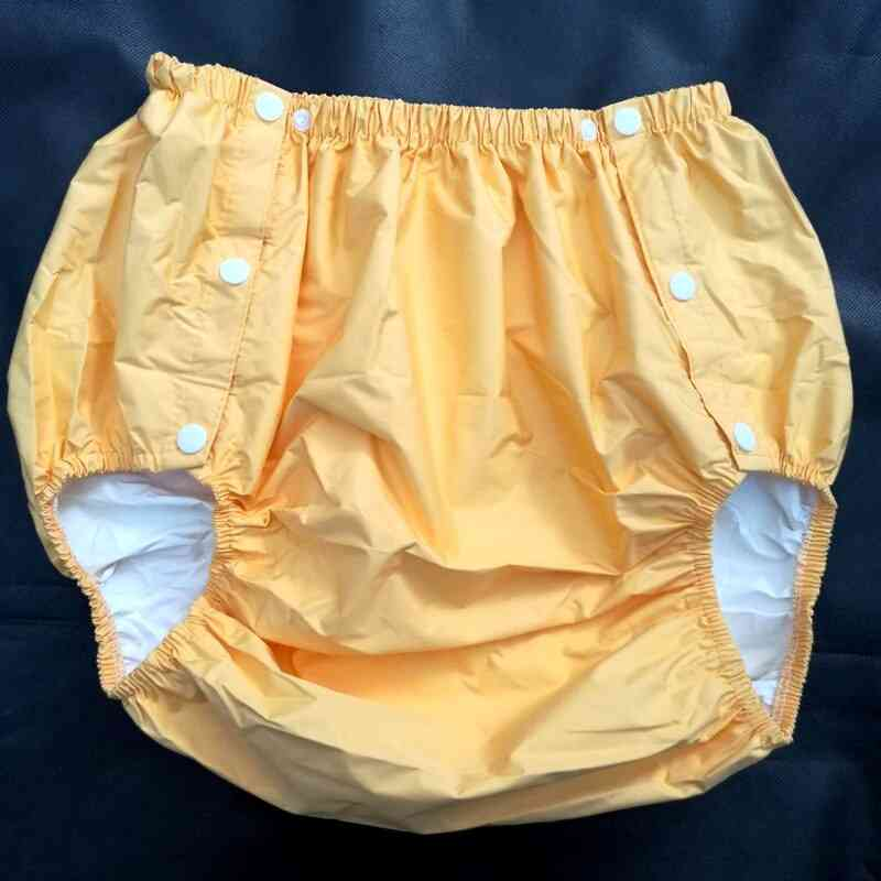 Yellow , Size L Part Safety Trousers/ Physiological Pants/adult Diaper