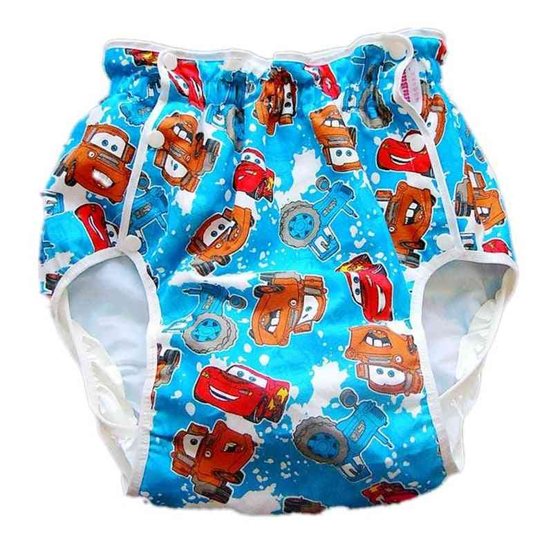 Large Size, Automobile Printed Adult Diaper