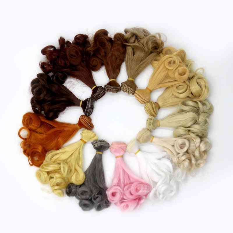 Gradient Color Doll Hair - Natural Wig