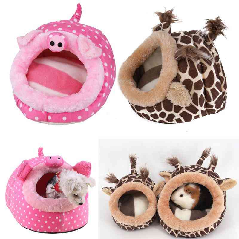 Cute Small Animals Pet Cage/nest - Guinea Pig, House Chinchillas, Squirrel Bed Nest