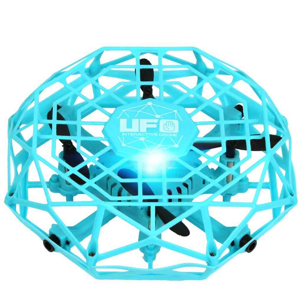 Mini Anticollision Sensor Induction Hand Controlled Altitude Hold Mode Ufo Drone Machine On Radio Control Kids