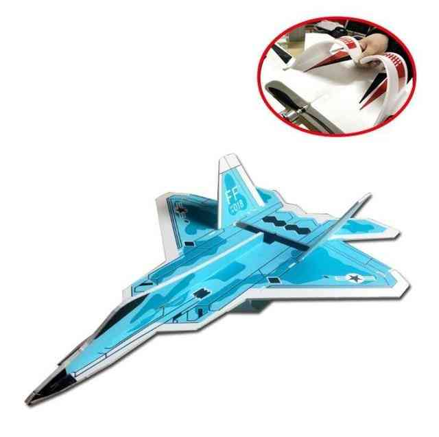 Fixed Wing Model Su27 Rc Airplane With Microzone - Mc6c Transmitter With Receiver