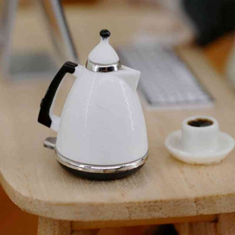 Dollhouse Pot Miniature Kitchen Kettle Toy