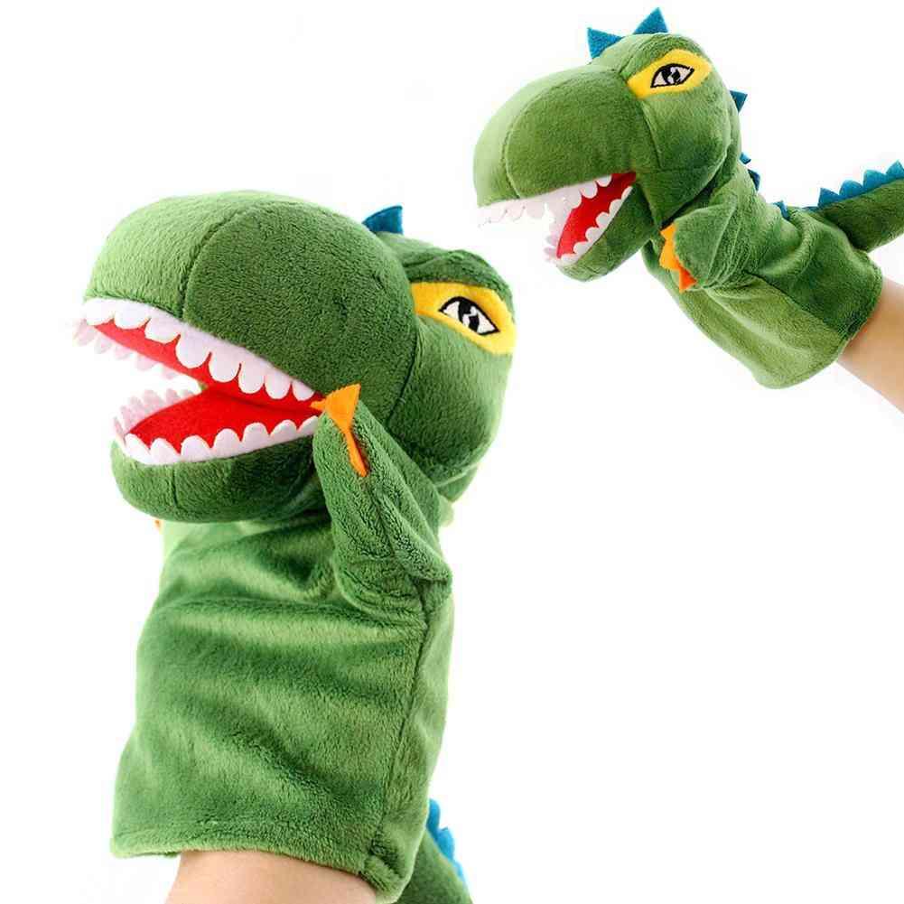 Dinosaur Marionette Glove Hand Puppet Doll Toys, Storys Talking Juguetes