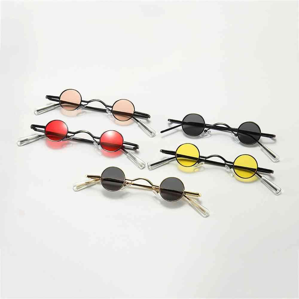 Mini Round Sunglasses For Men - Sun Glasses For Eye Care