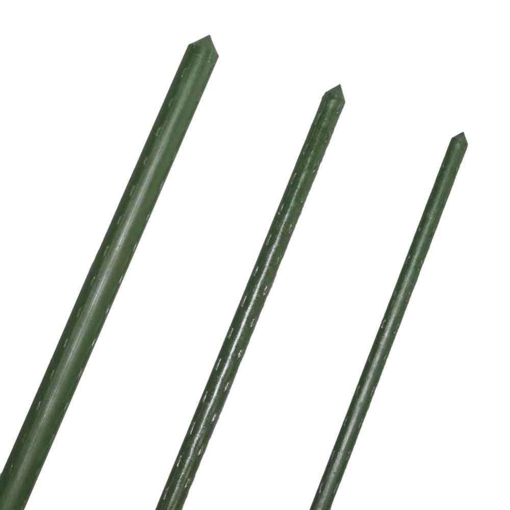 Plastic Coated Steel Pipe Plant Support - Garden Trellis Flower Support