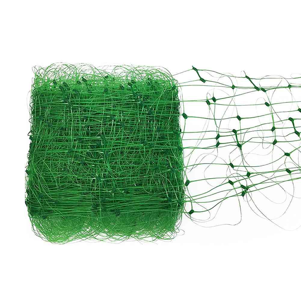 Garden Fence Green Nylon Mesh Net - Vegetable Plant Trellis Netting Support Net