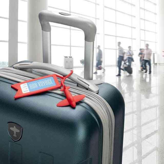 Silicone Airplane Luggage Tag