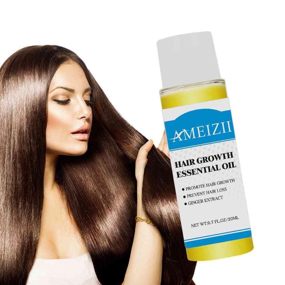 20ml Hair Growth Essence Hair Loss , Liquid Ginger - Extract Hair Tonic , Fast Sunburst Hair Growth Oil