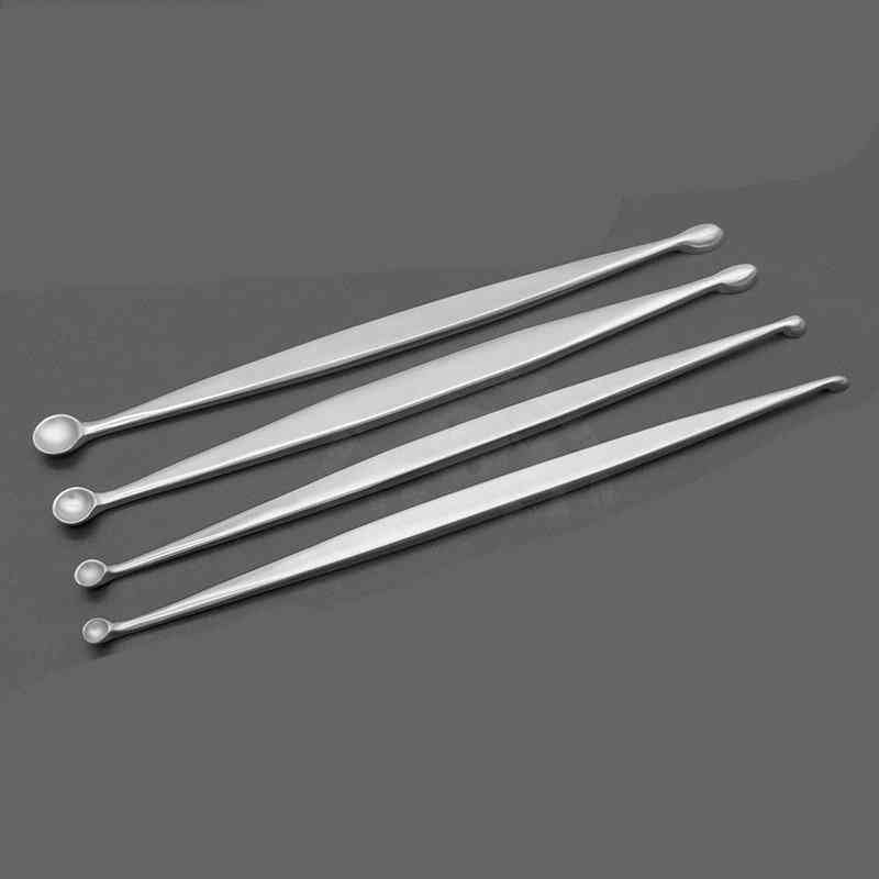 Orthopaedic Volkman Double End Oval And Round Veterinary Tools