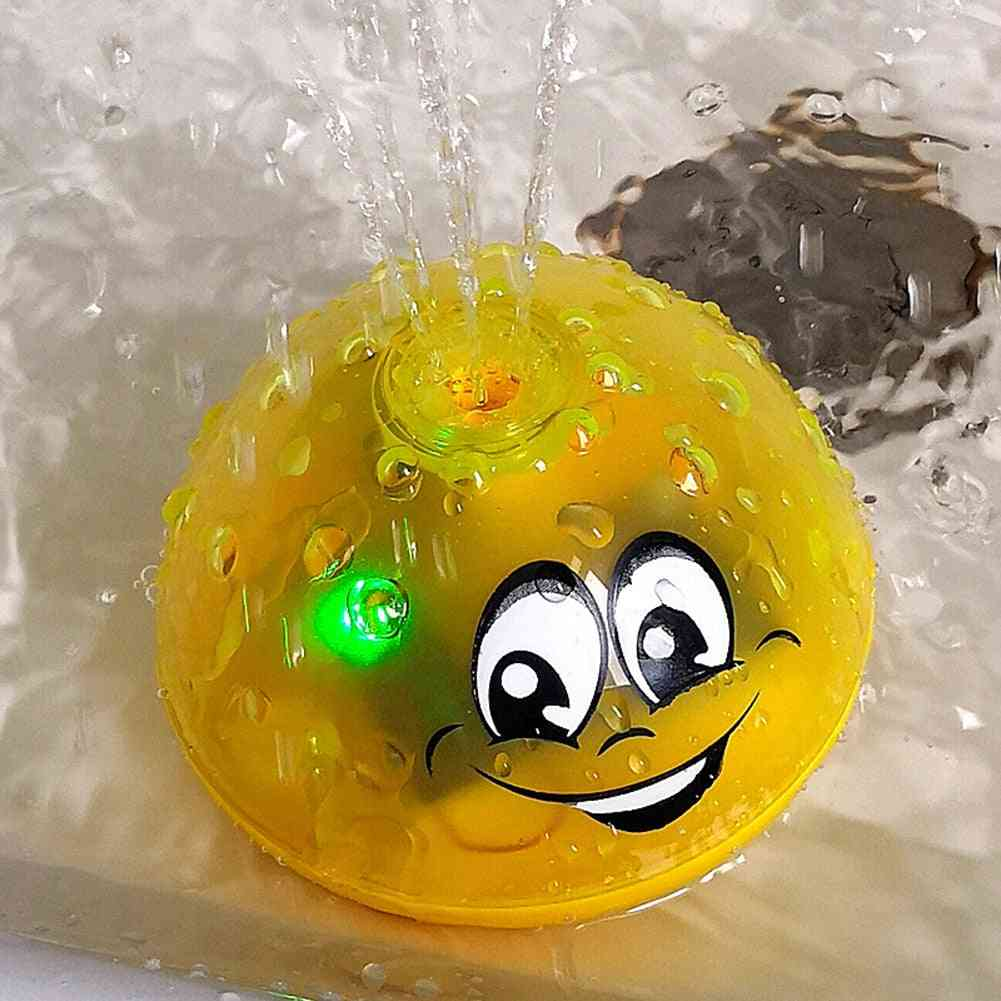 Lovely Led Flashing -bath, Water Sprinkle Ball For Kids Shower