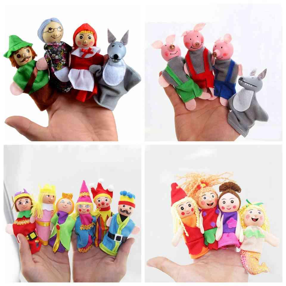 Pigs, Mermaid, Castle Princess Design Fairy Tale Puppets