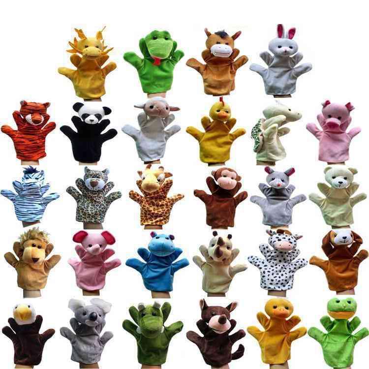Animal Design, Plush Soft Big Size Hand Puppet