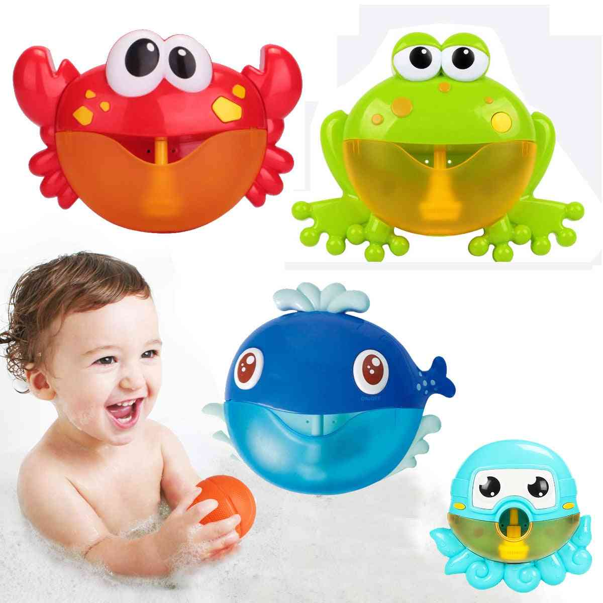 Automatic Bubble Maker-bath
