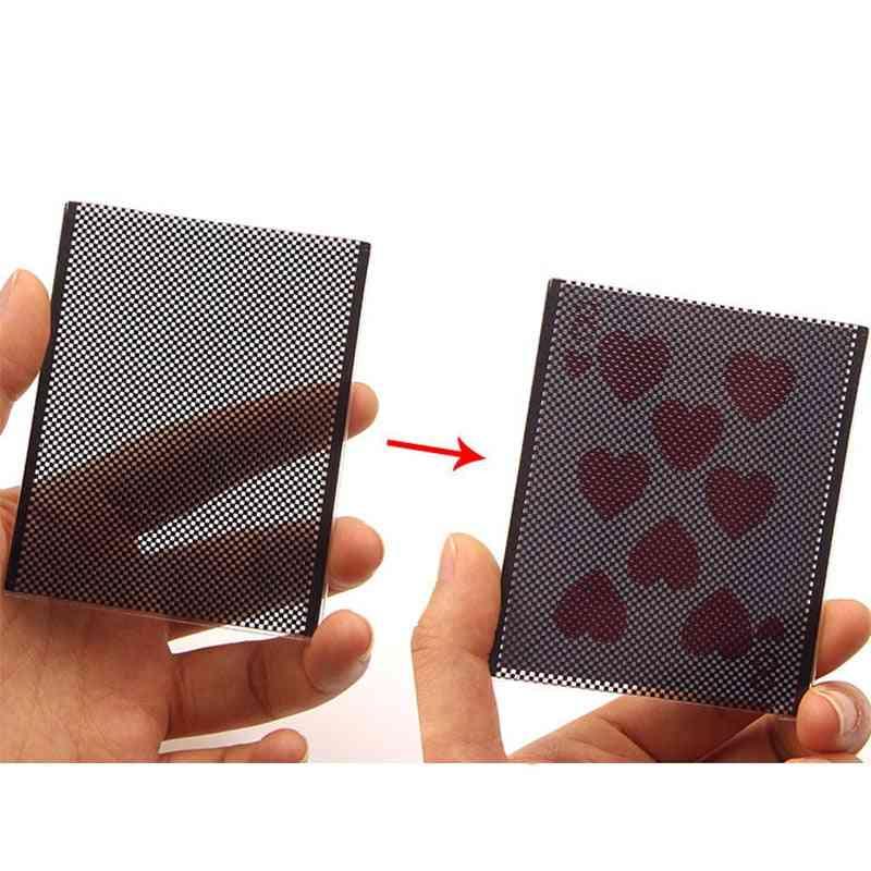 Funny Wow Poker Card Magic Trick -wow Card Wonderful Vanish, Illusion Change Sleeve Close-up Street Magic Trick