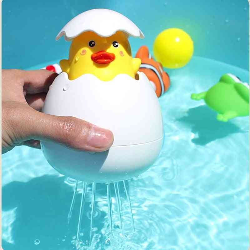 Cartoon Duck Baby Water -children Bathroom Sprinkler Bath For Kids