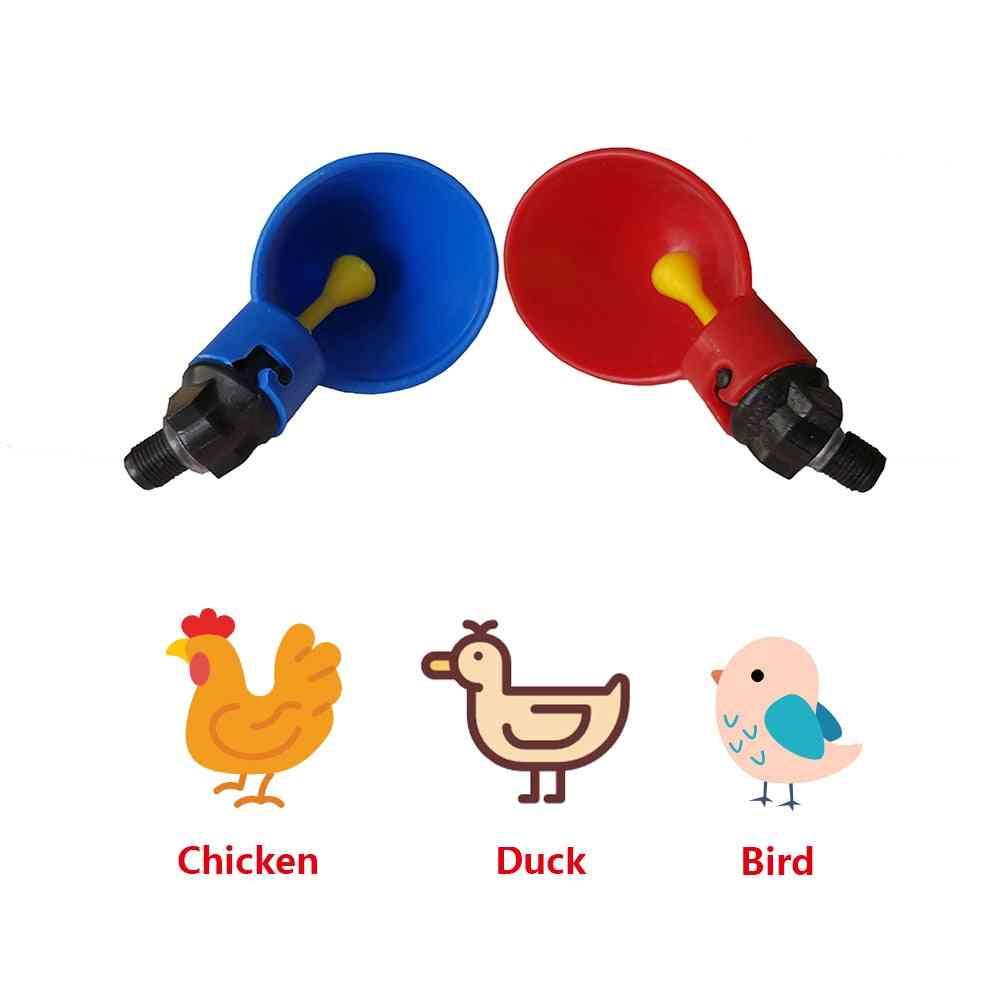 Poultry Chicken Water Drinking Dispenser Drinker Cups