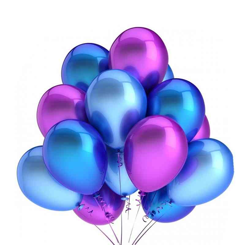 Glossy Pearl Latex Colorful Balloons