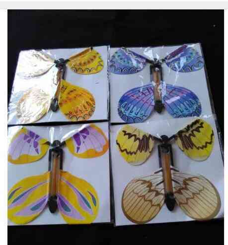 Magic Flying Butterfly With Card Toy, Empty Hands, Wedding Magic Tricks Props