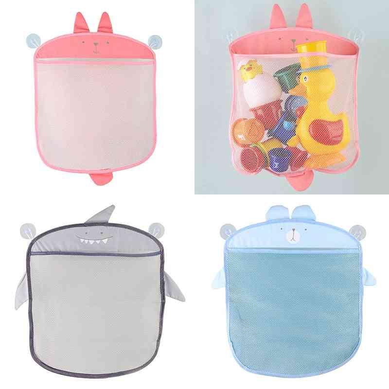 Cute Cartoon Bath Toy - Storage Hanging Basket
