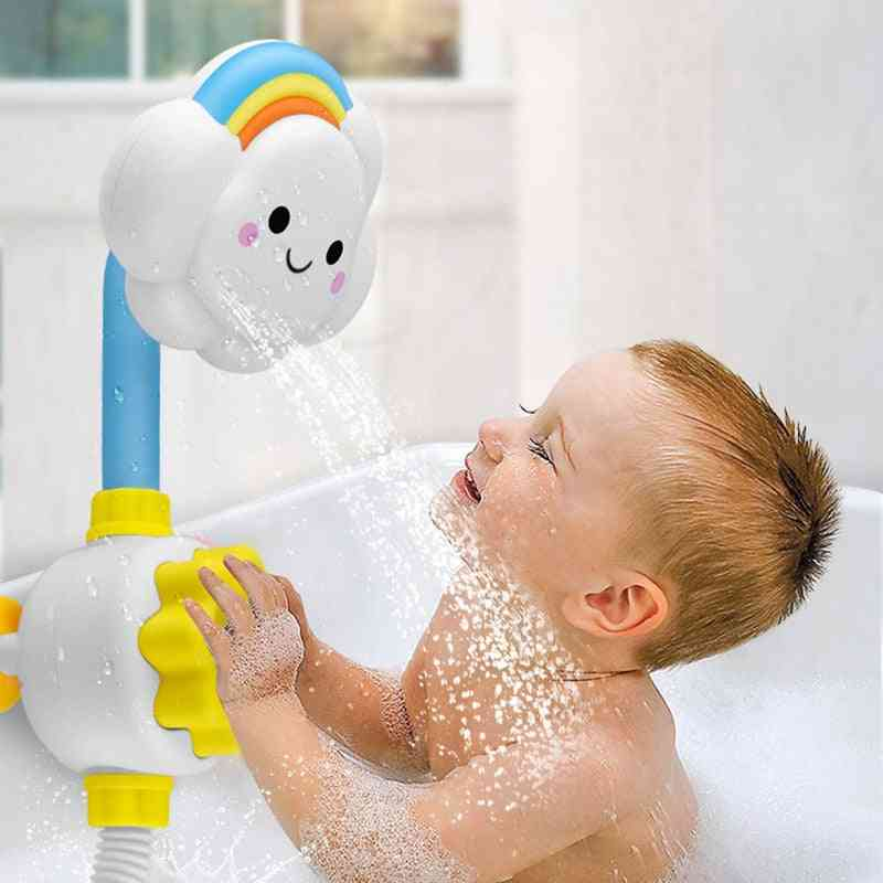 Sprinkling Bath For Kids - Baby Water Game - Faucet Shower Spray Toy