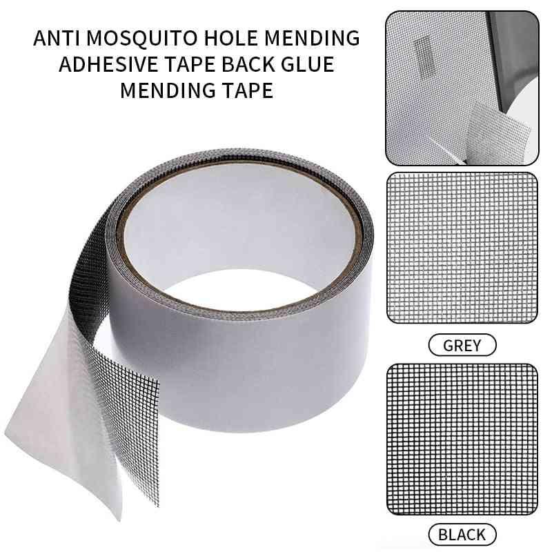Screen Repair Tape, Waterproof Patch Self Adhesive Super Fix Anti-insect Window Door Mosquito Net