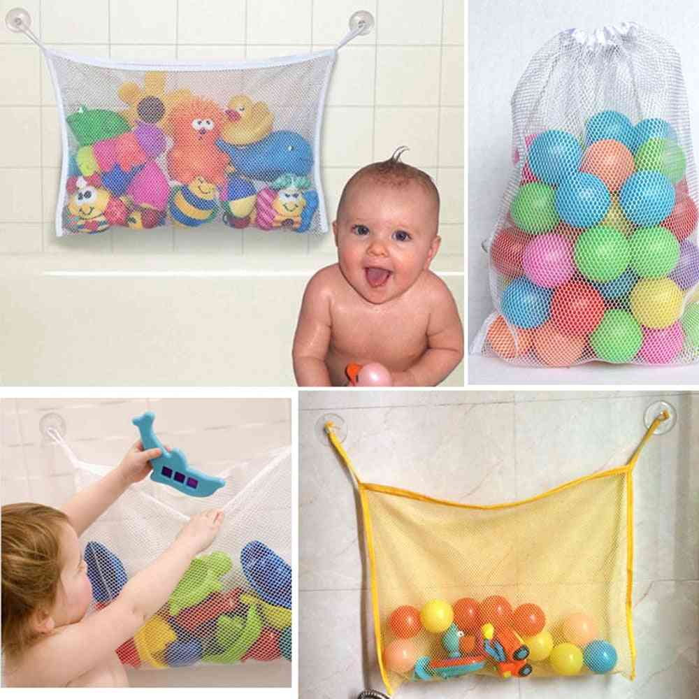 Baby Bath Storage Mesh Bag With Suction Cup