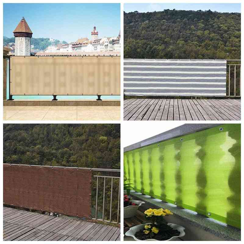 Home Courtyard, Balcony, Fence Safety Plant Cover - Sunscreen, Sunblock Shading Cloth