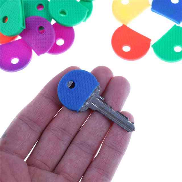 Fashion Hollow Multi Color Rubber Soft Key Locks Keys Cap
