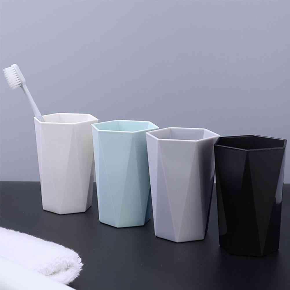 Nordic Plastic Cup, Toothbrush Holder, Washing Drinking Tooth Mug, Bathroom Tumblers
