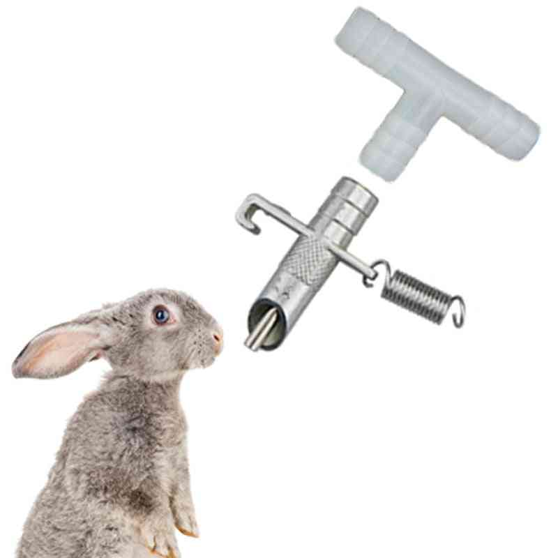 Automatic Nipple Water Feeder,drinking Tools, Drinkers For Rabbits