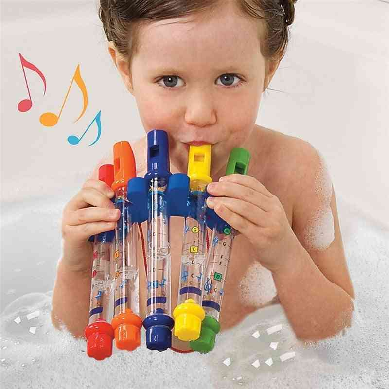 Colorful Water Flute Toy For Kids - Bath Tub Tunes, Fun Music Sounds For Baby Shower