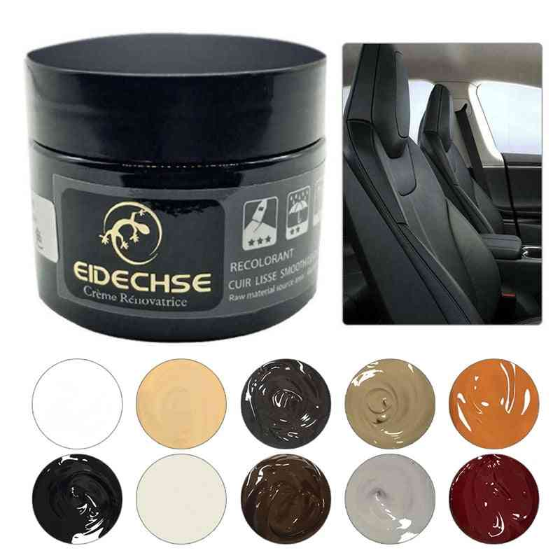 Leather Repair Kit - Car Seat, Sofa, Holes, Scratch, Cracks, Care Coating Leather Cleaner