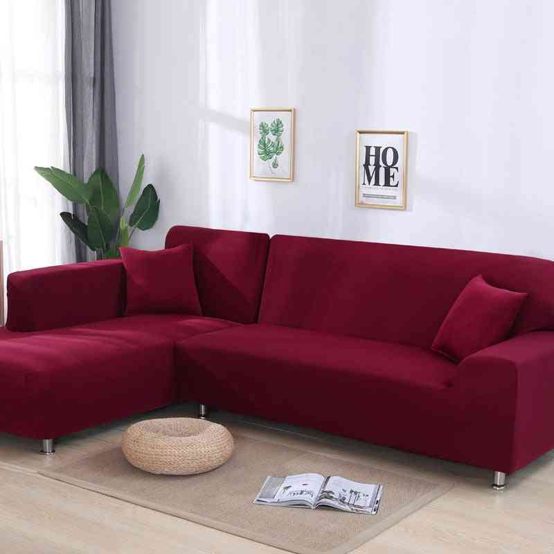 Sofa Covers For Living Room, Slip-resistant - Sofa Cover Stretch L Shaped