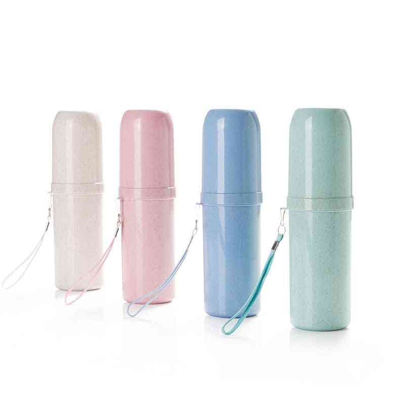 Toothbrush Cup Portable Toothpaste Holder - Bathroom Tool