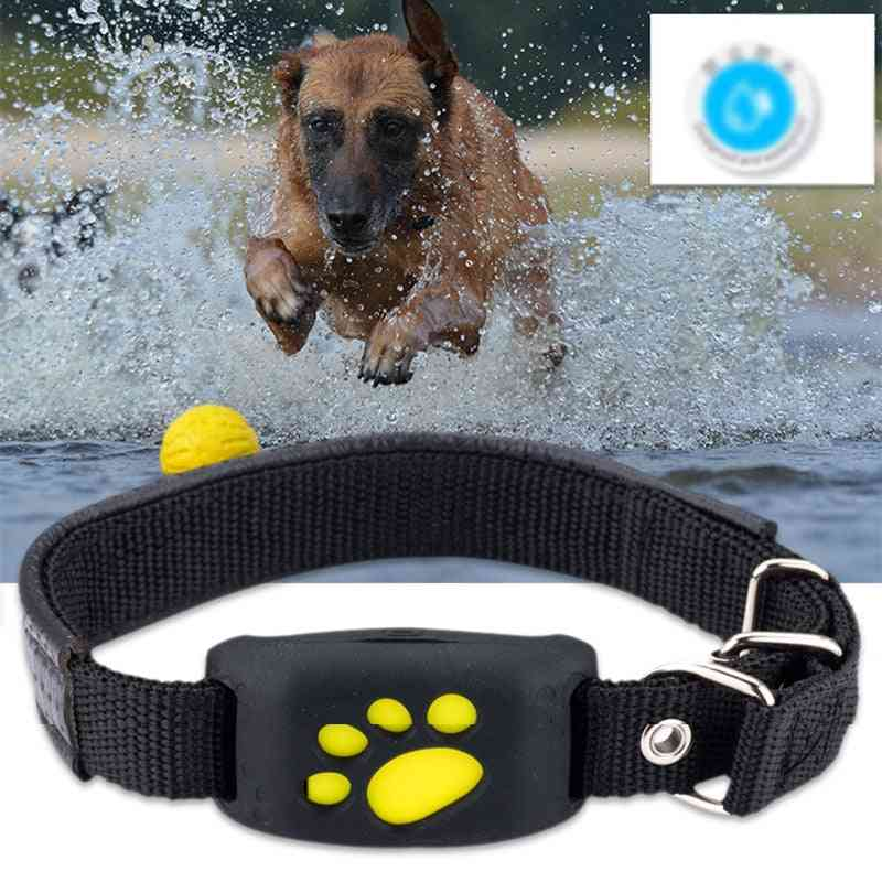 Pet Gps Positioner Locator Device Usb Cable Rechargeable Security Waterproof Collar Fence
