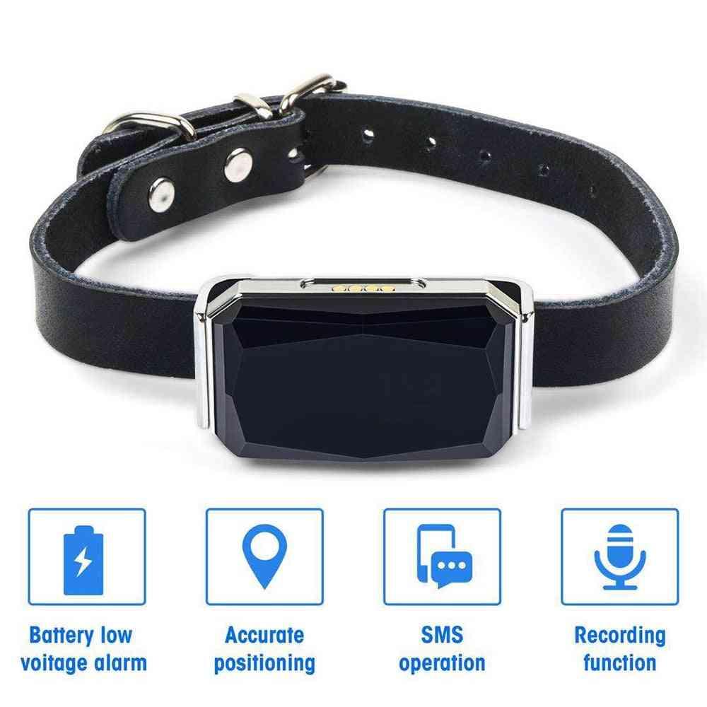 Pet Anti Lost Ip67 Waterproof Adjustable Gps Tracking Device