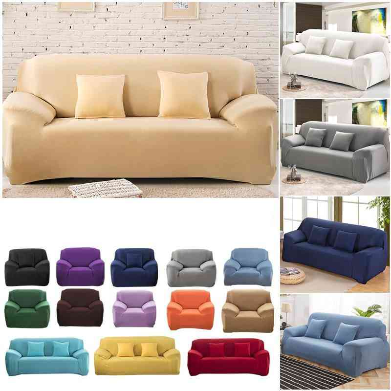 Elastic Stretch, Tight Wrap Sofa And Pillow Covers For Living Room, Couch, Chair