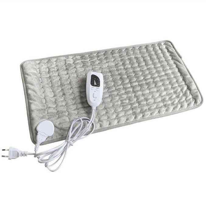 6 Level Electric Heating Timer Pad For Shoulder, Neck Back Spine, Leg Pain Relief Winter Warmer