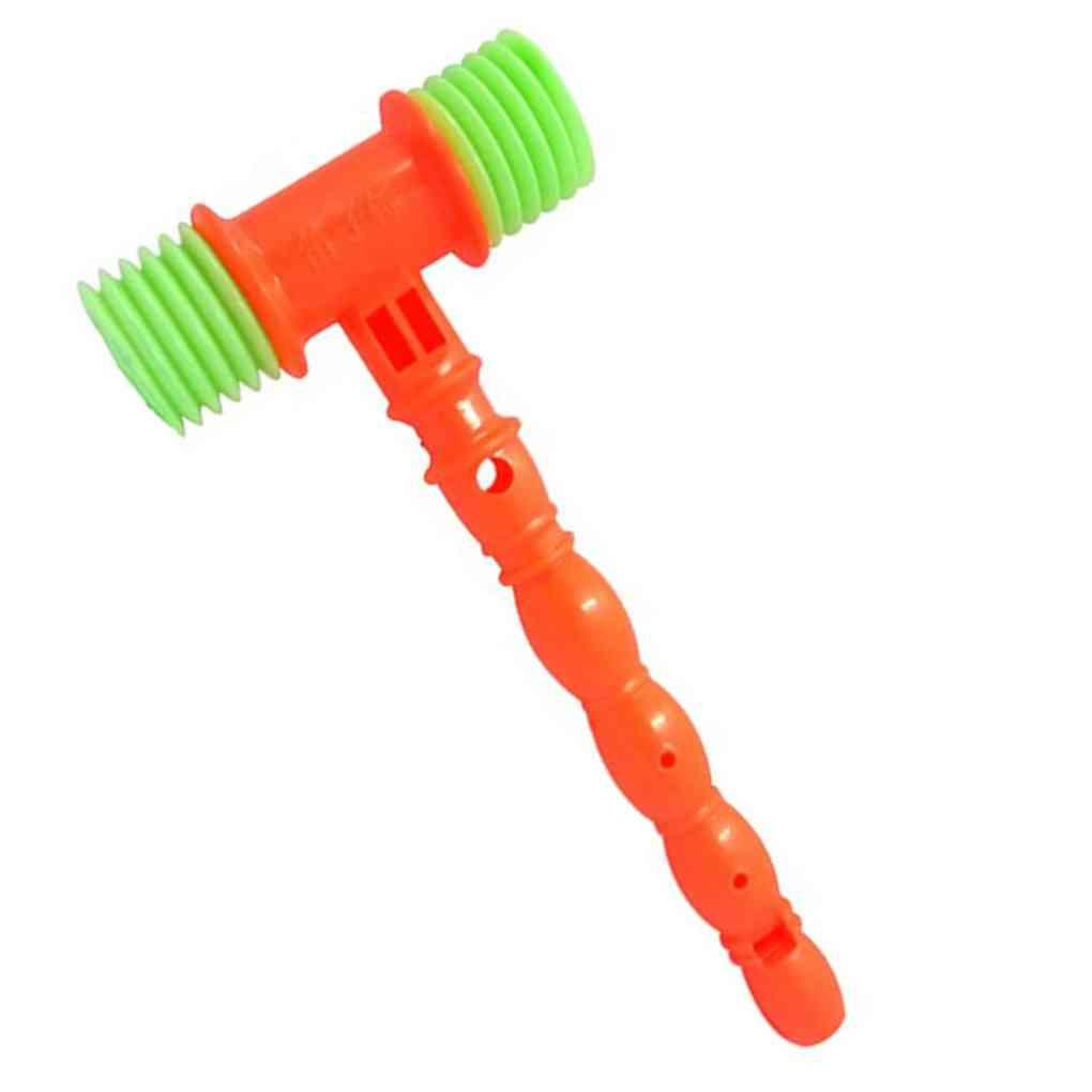 Whistles Plastic, Knocking Hammer Musical Instrument